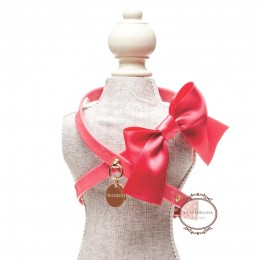 Satin Bow Harness