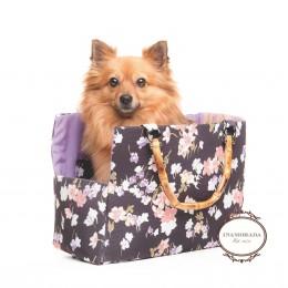 Trasportino per cani Flower Bamboo Bag