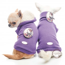 Dolcevita per cani Purple Dream