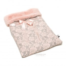 THE EMBROIDERED FURRY SLEEPING BAG